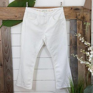 Kate Spade Broome Street NWT White Denim Jeans